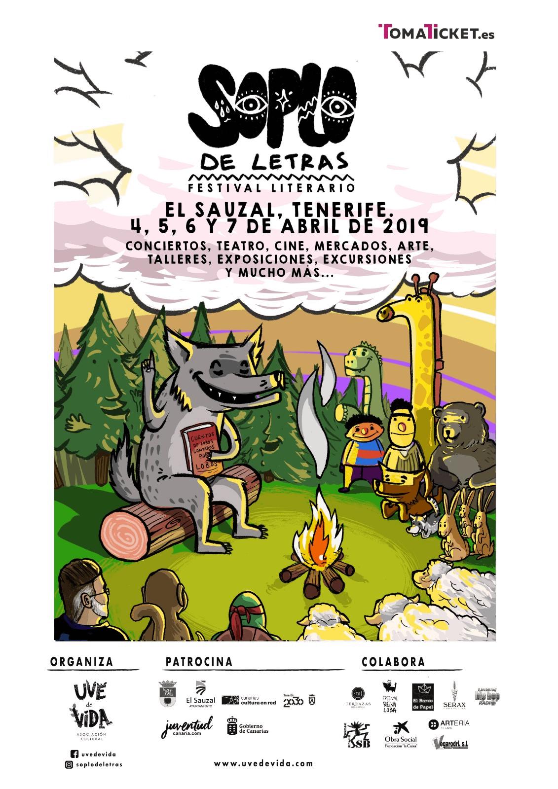 Cartel Soplo de Letras 2019