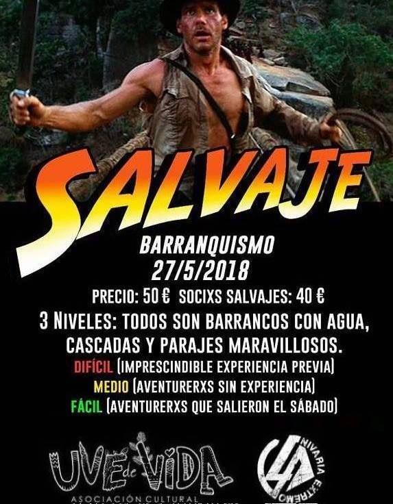 SalVaje Barranquismo Los Carrizales